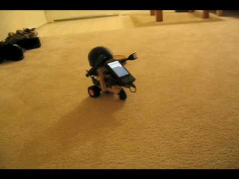 Android Based Robot