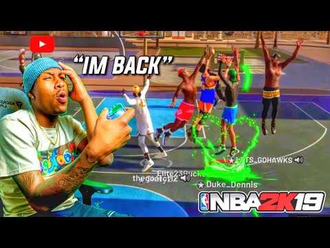 I returned to NBA 2K19 for a day with my 99 overall SHOT CREATOR STRETCH BIG! Best STRETCH BIG EVER!