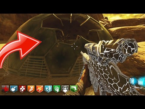 "INCREDIBLE ""MARS"" SPACE ZOMBIES MAP w/ ALIEN GUNS! – BLACK OPS 3 CUSTOM ZOMBIES GAMEPLAY! (BO3 MODS)"