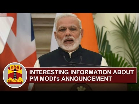 Interesting Information about PM Modi's Announcement on ...