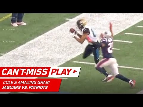 Video: Keelan Cole's Insane Toe Drag Swag vs. Pats! | Can't-Miss Play | AFC Championship HLs