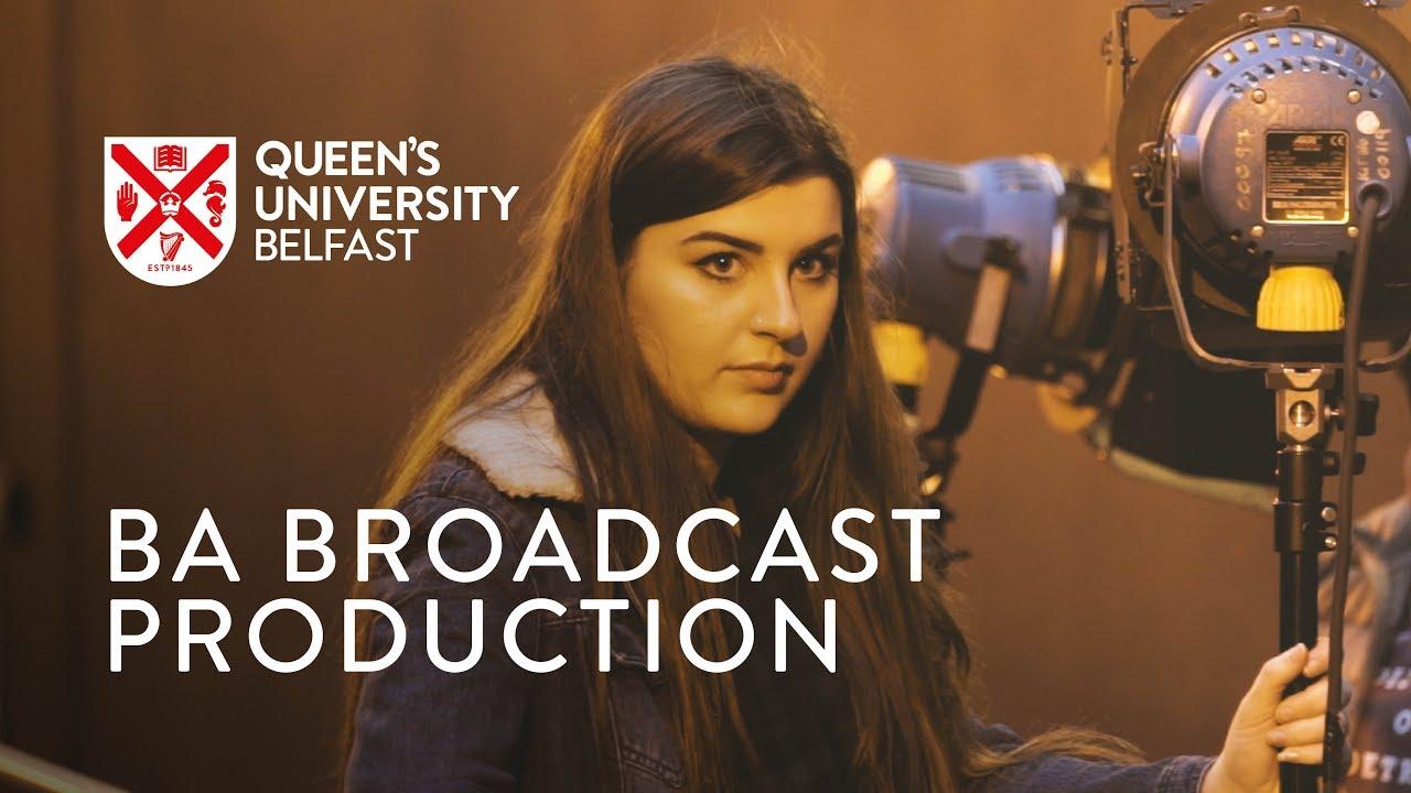 BA Broadcast Production