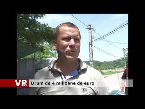 Drum de 4 milioane de euro