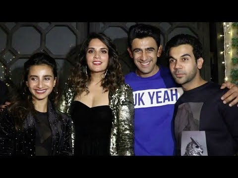 Richa Chadda's Birthday Party 2017 | Rajkummar Rao