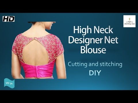 Video High neck blouse download in MP3, 3GP, MP4, WEBM, AVI, FLV January 2017