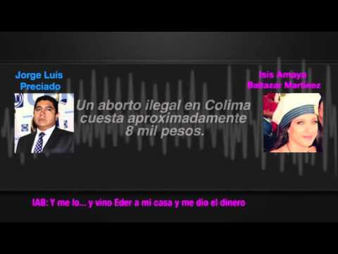 Filtran nuevo audio de Preciado donde obliga a su novia a abortar