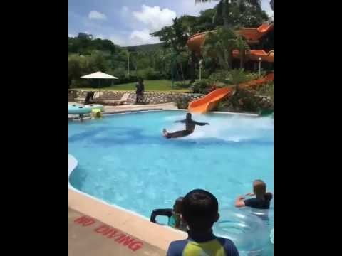 Water Slide Like A Boss