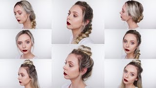 Hey friends! Today I'm showing you my favorite heatless hairstyles, hope you like it! IMPORTANT INFO BELOW. NOT A ...