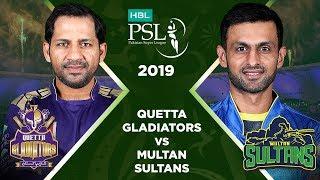 Match 8: Full Match Highlights Quetta Gladiators vs Multan Sultans   HBL PSL 4   HBL PSL 2019