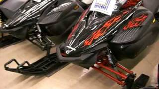 5. Yamaha Apex RTX 150HP New Snowmobile