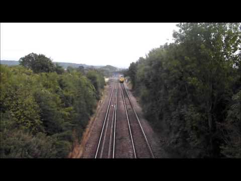 Freightliner 66515 passes Somerton working 6C73 Westbury ...