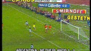 Video 1978 final  WC  Argentina - Netherlands  3:1( a.e.t.) MP3, 3GP, MP4, WEBM, AVI, FLV September 2019