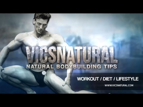 Vic's Natural Pre Workout Training Tips -Bodybuilding Workouts with Victor Costa