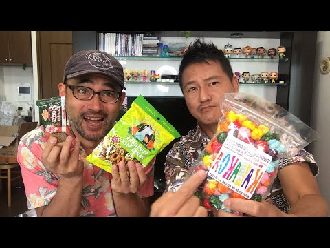 Trying Hawaiian Snacks Livestream