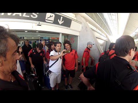 #PretemporadaRiver El campeón llegó a Punta del Este