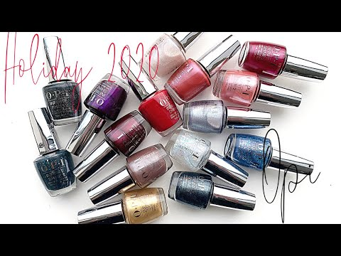 OPI | Shine Bright | Holidays 2020 | Infinite Shine [SWATCH ON REAL NAILS]