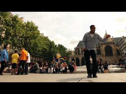 Popping dance 2011 в Париже