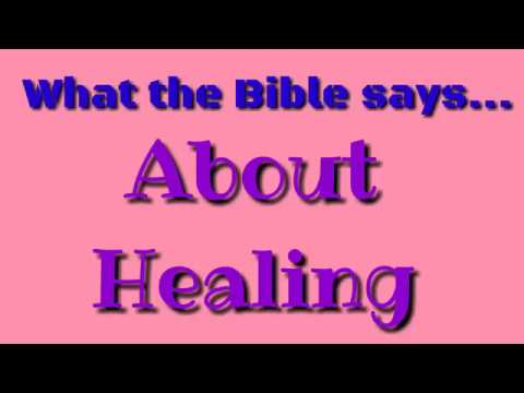 Bible quotes - Bible Verses About Healing