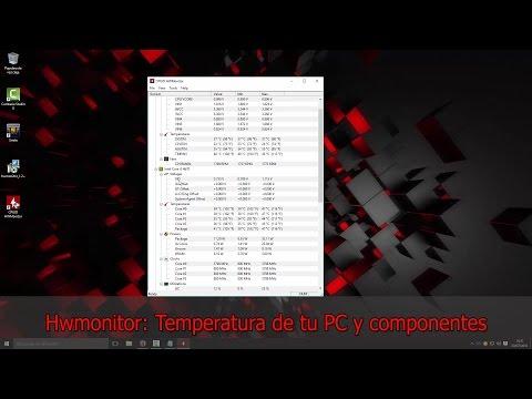 Hwmonitor: Temperatura actual de tu pc y sus componentes! 2016