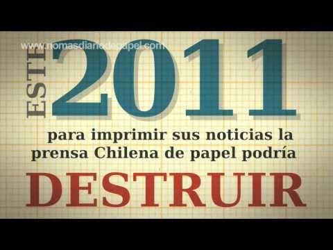Lanzan En Chile Campaña Para Acabar Con Los Diarios De Papel