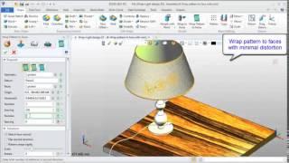 Part Design ZW3D 2013 Flexible Wrap Features