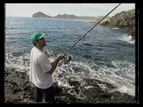Pesca desde roca en Cabo de Gata
