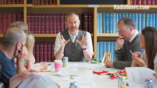 Sherlock co-creator, League of Gentlemen star and Doctor Who writer Mark Gatiss is taking over Radio Times magazine for one week only to celebrate the BBC's upcoming Gay Britannia season. What does the new boss have in store? http://bit.ly/RTguesteditor
