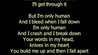 Christina Perri Human Lyrics