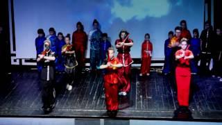 Выступление АКБИ: Ушу и Кунг-Фу на Празднике Фонарей
