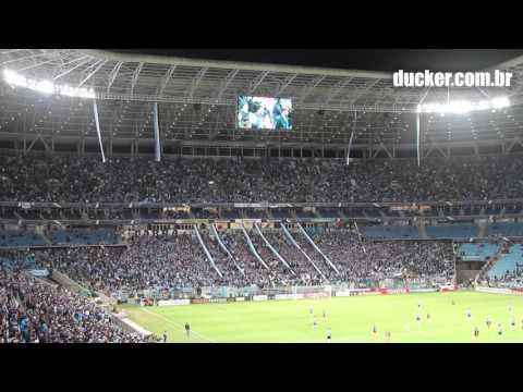 Grêmio 0 x 1 Rosário Central - Libertadores 2016 - Nesta noite te quero ver ganhar - Geral do Grêmio - Grêmio