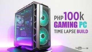 P100k Gaming PC Time Lapse Build I MSI Z370 Gaming Pro Carbon AC I Master Case H500P