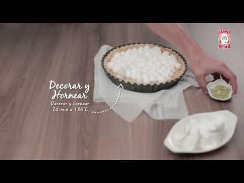Video - Receta: pie de limón con Harina Apolo