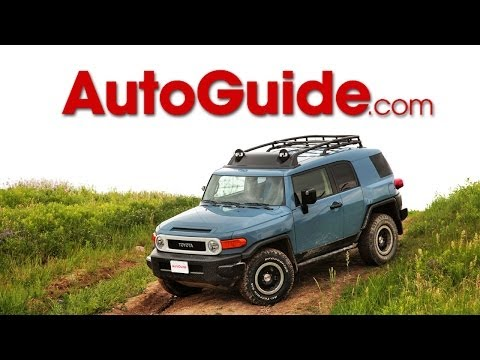2014 Toyota FJ Cruiser Trail Teams Ultimate Edition Review
