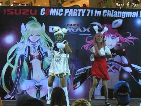 World Cosplay Summit 2014 Thai regional round – Chiang Mai – Team 1 Di Gi Charat