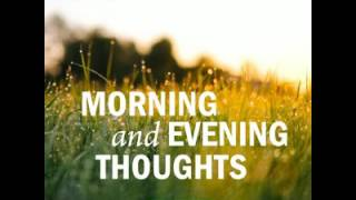 Morning and Evening Thoughts by James Allen | Philosophy, Psychology,  Religion | AudioBook
