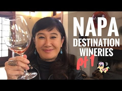Napa's Best Destination Wineries (Part 1 in St. Helena & Calistoga Region)