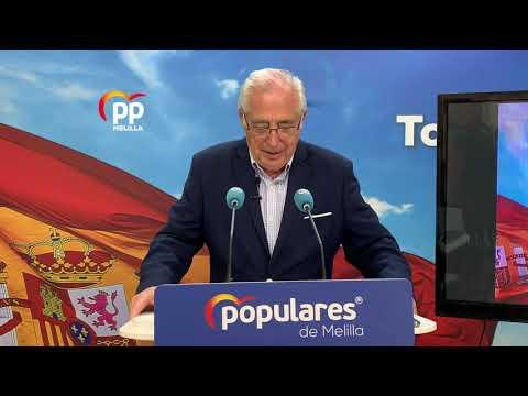 Juan José Imbroda pide a Eduardo de Castro, que se someta a una moción de confianza en la Asamblea