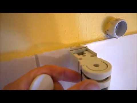 Duschwand Duschkabine Dusche ausbauen Drehfalttür Firma Schulte Typ Garant