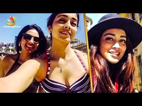 Shriya Saran's First Vacation after Wedding in Spain | Hot Tamil Cinema News