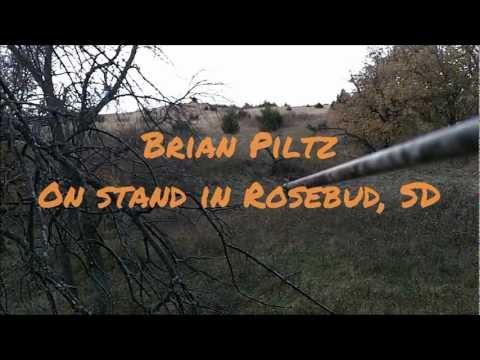 InsaneArchery Camera Bow Mount - South Dakota Doe - Video & Trail Cam of the Hunt (видео)