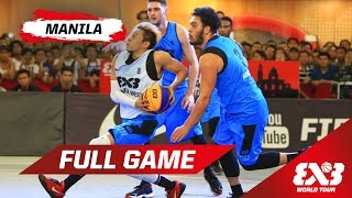Relive the full game between Manila West and Auckland on day 1 at the 2015 FIBA 3x3 World Tour stop in Manila.