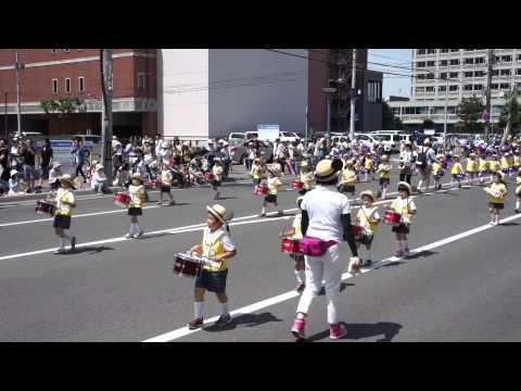 あしたば幼稚園・第82回北海道音楽大行進(2014年)