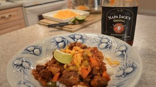 How To Make Napa Jack's Southwestern BBQ Marinade For Beef: Cooking With Kimberly