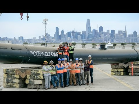 The Ocean Cleanup - Launching in 2018