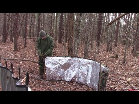 The Portable Fire Reflector For Camping Or Bushcraft #bushcraft camping