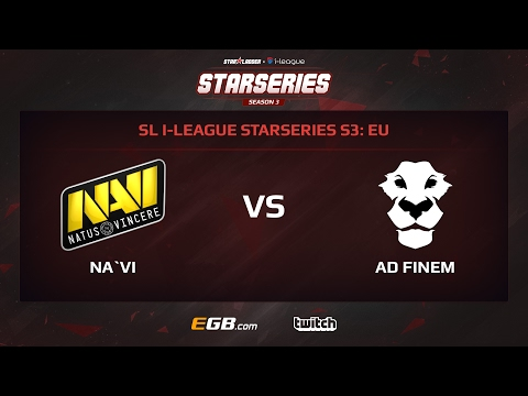 Natus Vincere vs AD Finem, Game 2, SL i-League StarSeries Season 3, EU