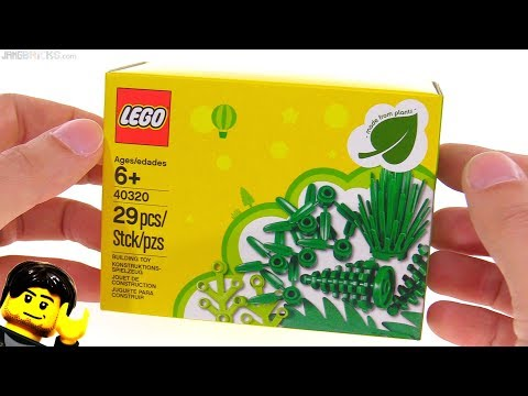 LEGO Plants from Plants review! Eco-promo mini-set