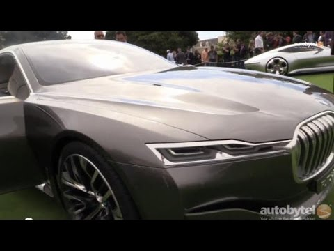 BMW Vision Future Luxury Concept Walkaround *Video*