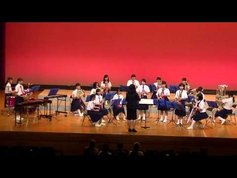 第47回伊都地方吹奏楽祭  橋本中学校吹奏楽部、「タッチ」・「ルパン三世」