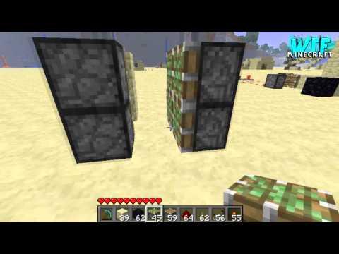 Minecraft - How to build a secret piston door